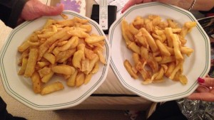Small portion of chips