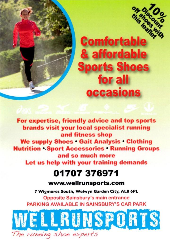Well Run Sports Poster